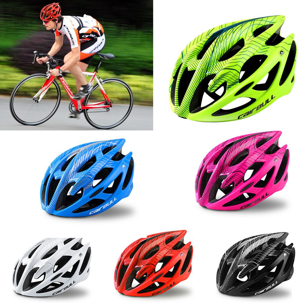 Muticolor High Strength Bike Helmet Simple Ultralight Breathable Cycling Safety Hat