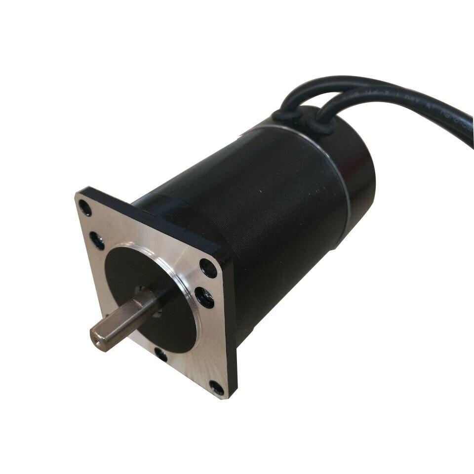 DC24V 60 W 1000 tr/min 0.6Nm Nema23 57 MM DC sans brosse aimant Permanent moteur Instrument de précision/machines/bricolage accessoires de puissance