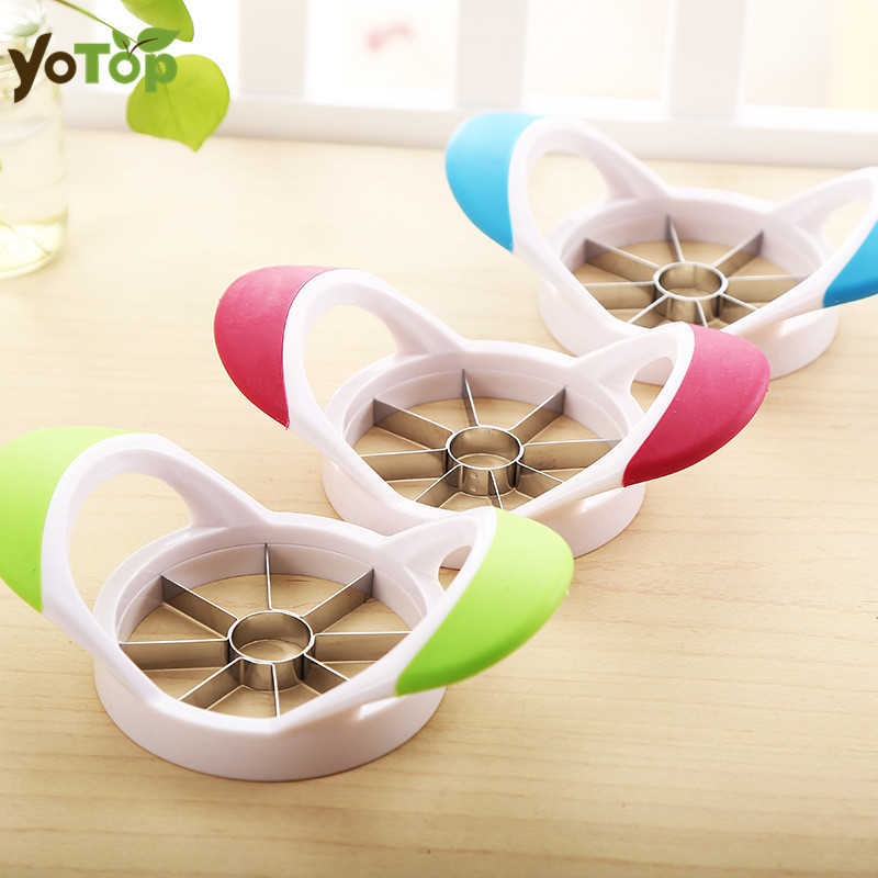 YOTOP Stainless Steel Apple Cutter Apple Peeler Slicer Cut to the Core Valve Device Apple Pie Fruit Tools Kitchen Gadgets