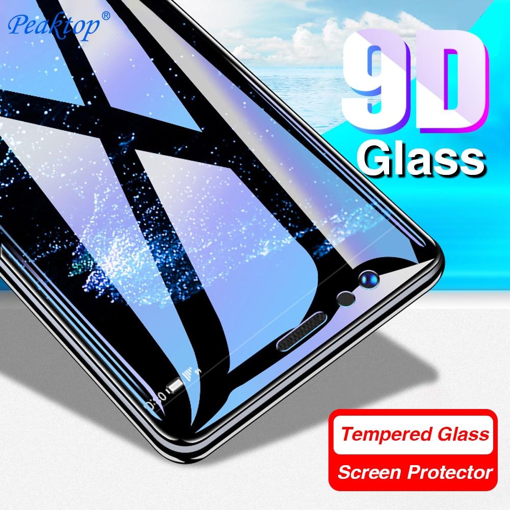 5pcs 9D Tempered Glass For Xiaomi Redmi Note 7 Screen Protector Glass On For Xiaomi Mi 9 SE 8 Lite Pocophone F1 Full Cover