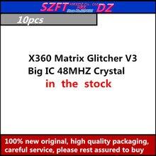SZFTHRXDZ 5 sztuk X360 matryca Glitcher V3 niebieski PCB duży IC 48MHZ oscylator kryształowy