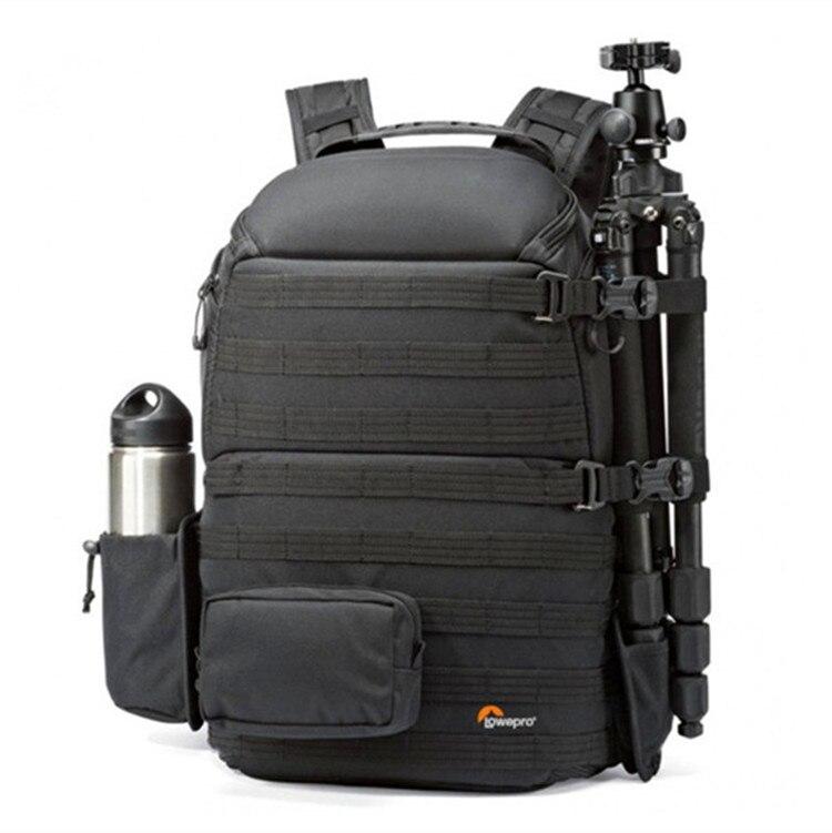 Véritable Lowepro ProTactic 450 aw épaule caméra sac appareil photo REFLEX sac D'ordinateur Portable sac à dos avec all weather Cover 15.6 pouce Lapto