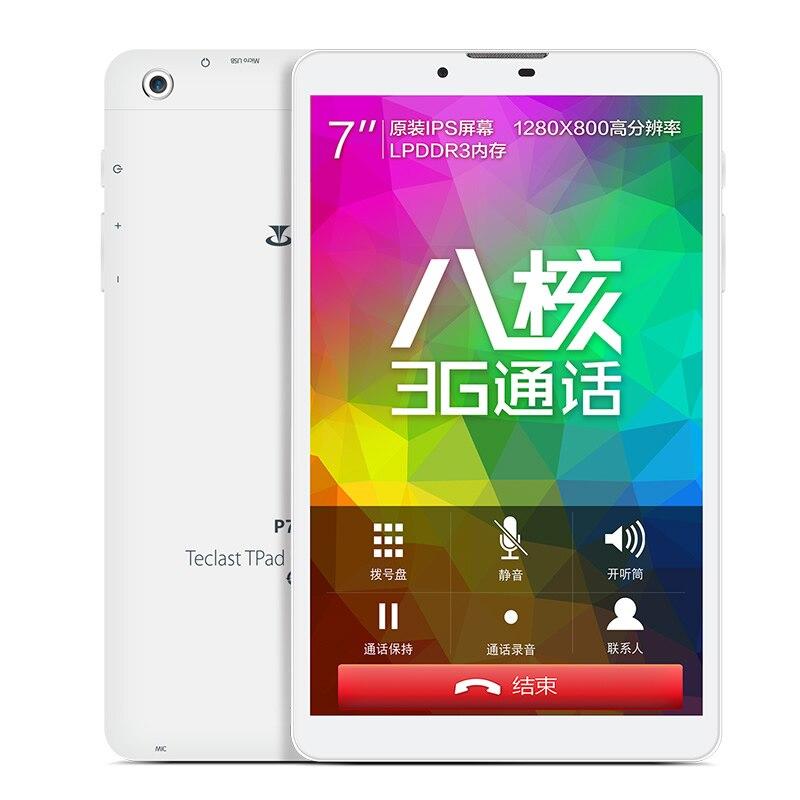 Teclast/TELECT 3G P70 ocho core 8 GB 3G 7 pulgadas WIFI Internet teléfono Tablet