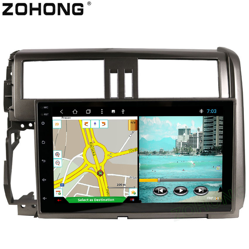 2din 9 Android8 1 Octa 8 Core 2 32G Car DVD Player for Toyota Land cruiser