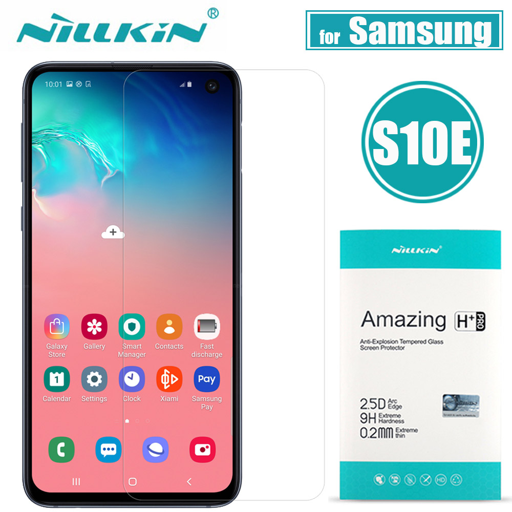 Nilkin for Samsung Galaxy S10E Tempered Glass Screen Protector Nillkin 9H H Plus Pro Clear Protective Film for Samsung S10e