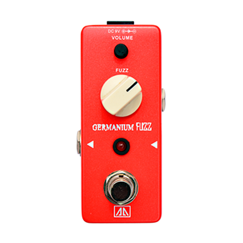 Germanium Fuzz Guitar Effect Pedal Effects for Electric Guitar  AA Series True bypass Vintage Germanium Transistor Fuzz mooer ensemble queen bass chorus effect pedal mini guitar effects true bypass with free connector and footswitch topper