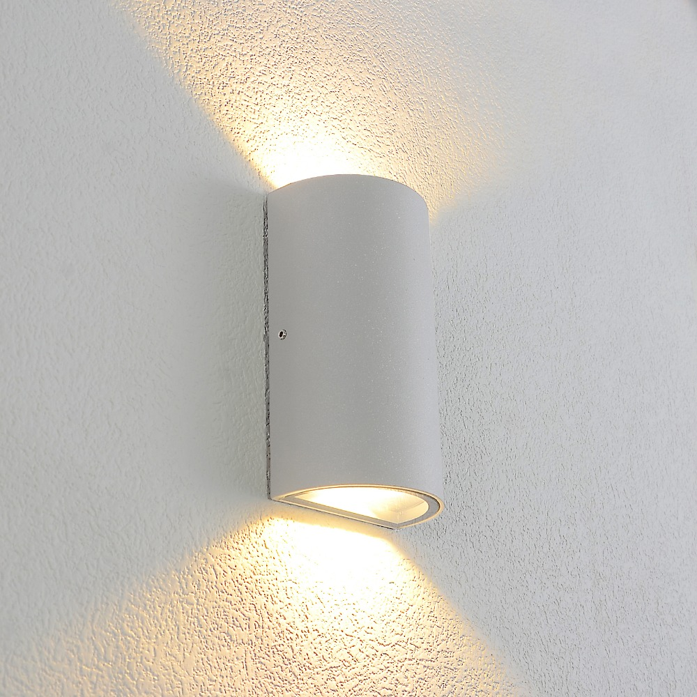 Outdoor Waterproof Wall Lamp Up Down Wall Light Aluminum Wall Lights Porch Garden Aside Hotel Lighting Indoor Wall Sconce BL51