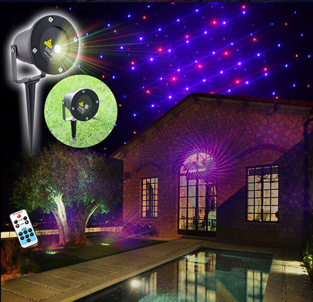 lighting static christmas remote projector light green outdoor red control laser with p