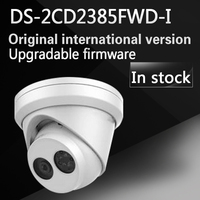 DHL Free Shipping English Version DS 2CD2385FWD I 8MP Network Turret Camera 120dB Wide Dynamic Range