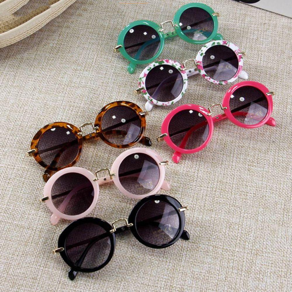 Children Goggle Girls ANTI-UV Sunglasses Hot Boys Girls Baby Child Classic Retro Cute Sun Glasses Candy Colors Round Eyewear
