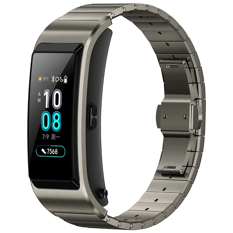 Huawei TalkBand B5 Talk Band B5 Bluetooth Smart Bracelet Color Screen Health Waterproof Touch Screen Full