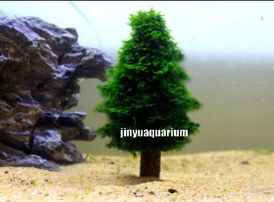 high simulation moss christmas tree plant grow landscape ada water plant fish aquarium tank in cleaning tools from home garden on aliexpresscom
