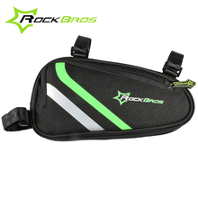 ROCKBROS Bicycle Frame Bag Outdoor Cycling Bag Bike Tube Bag Cycling Pannier Bike Accessories Bicycle Repair Tool Bag