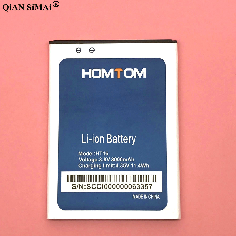 New High Quality HT16 3000mAh battery For Homtom HT16 Pro phone