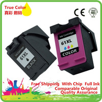 1 Set Ink Cartridges For HP HP61 HP61XL 61 XL 61XL CH563WN CH564W ENVY 4500e 5530e