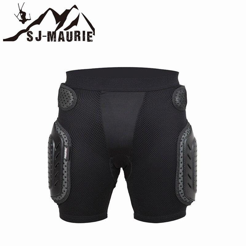 Sj-maurie professionnel moto adulte cyclisme Ski basket-ball protections de hanche Sport néoprène respirant éponge Nappy orthèse