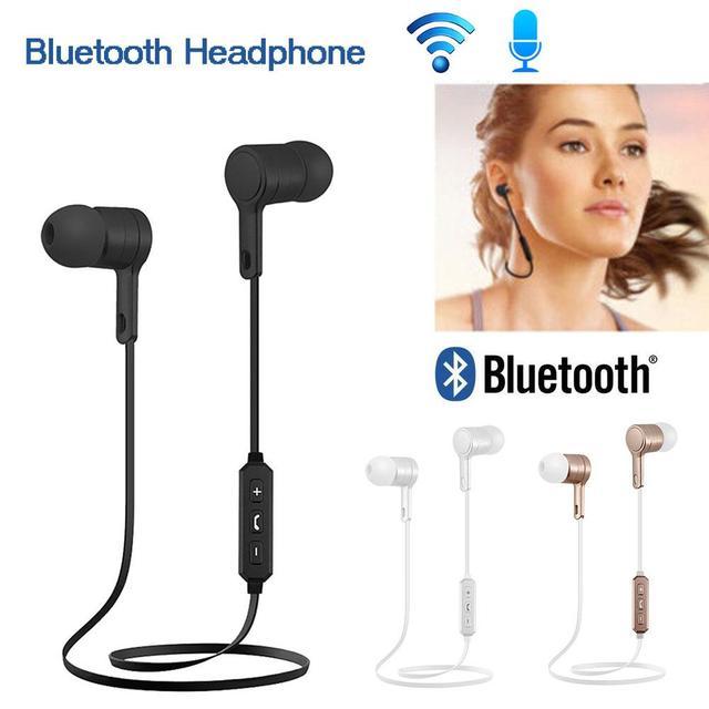 2018 Venta caliente auriculares estéreo inalámbrico Bluetooth 4,0 auriculares deportivos para correr auriculares Dropship 8,8