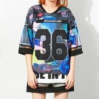 Harajuku T Shirt Women 2016 Kawaii Bear Print Tee Shirt Femme Tops For Woman Ladies Summer