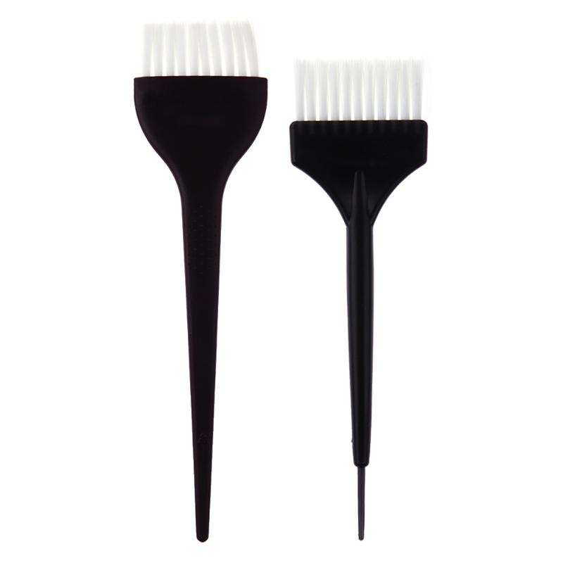New  Plastic Hair Coloring Dye Salon Brush Comb Hairdressing Tinting Brush Application Pro Hair Styling Tools Hair Care