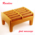 Plastic foot massager 5 row roller massage stool Foot care massage apparatus
