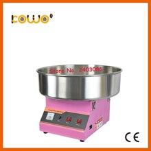 Нержавеющая сталь Электрический cotton candy floss машина ce RoH коммерческих 110 В 220 В 1080 Вт 1 единица/30 секунд сладкая вата maker