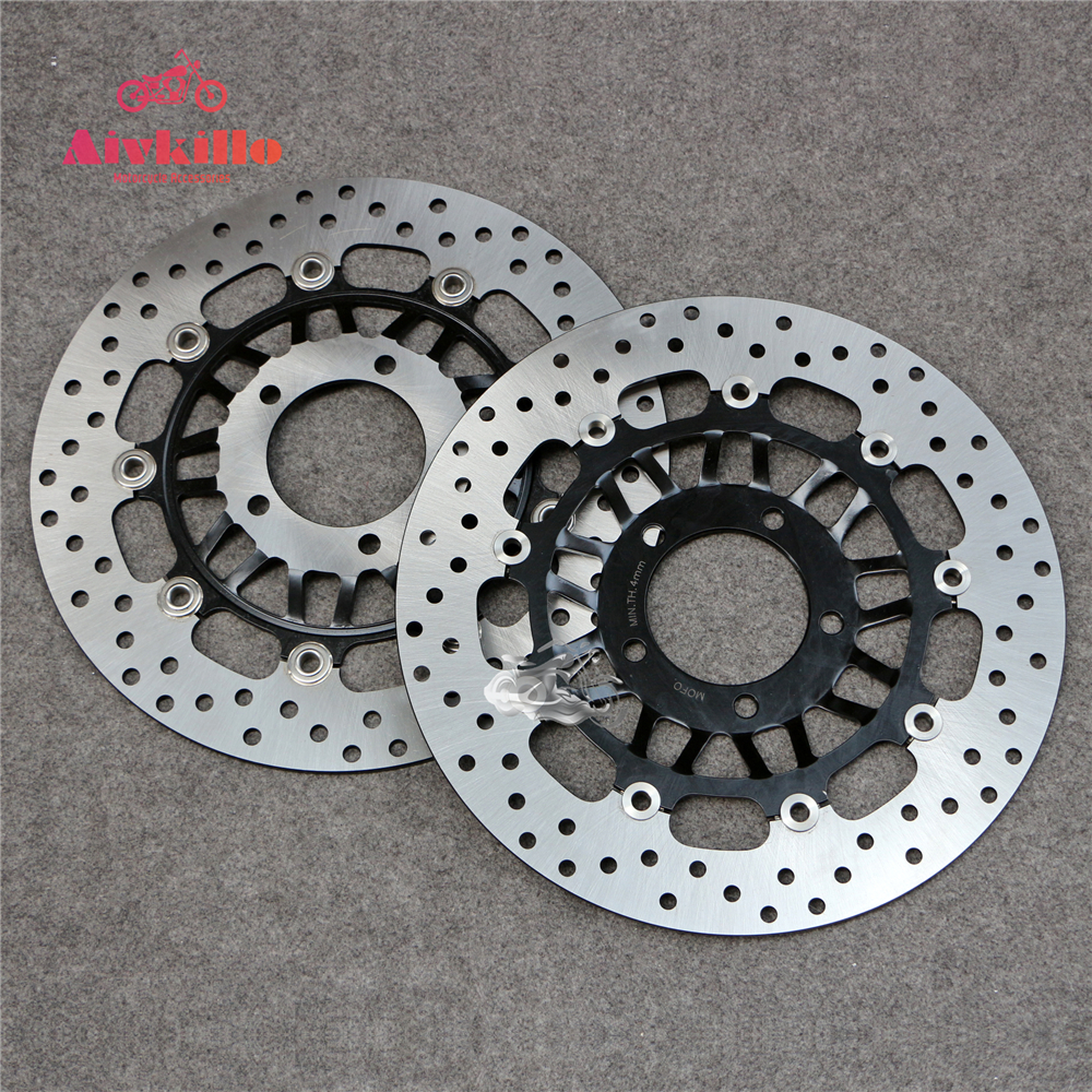 Floating Front Brake Disc Rotor For Motorcycle TRIUMPH Daytona 955 & Speed Triple T509 & Sprint ST 1050 & Rocket III 2294cc for triumph speed triple 955cc 02 04 motorcycle front and rear brake pads set