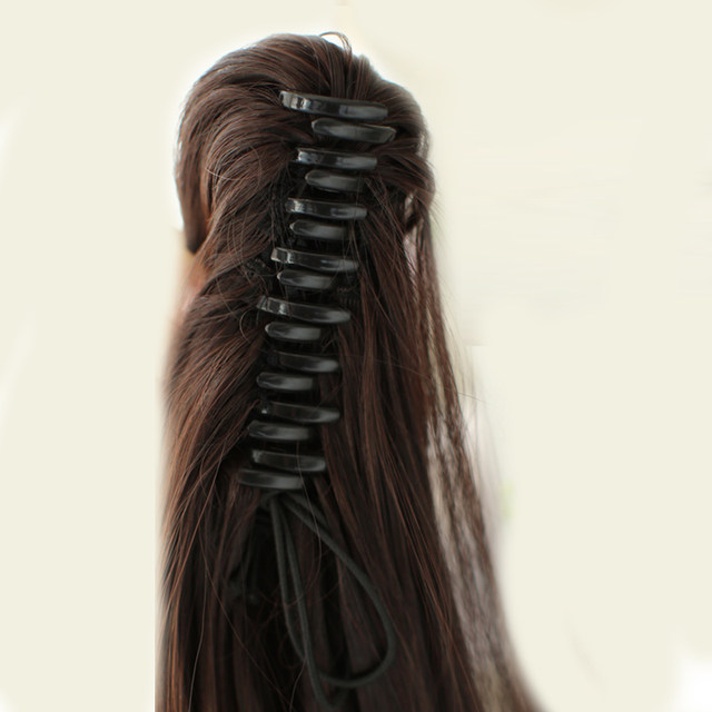 Online Shop Shangke 26 Long Claw Clip Drawstring Ponytail Fake Hair