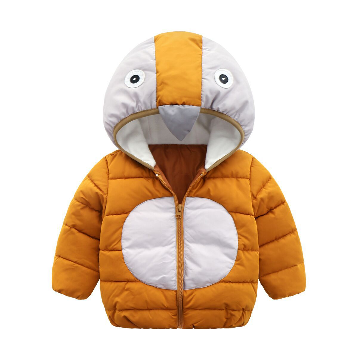 top-rated latest discount up to 60% get cheap 2018 Girls Winter Coat Cute Baby Penguin Children Outerwear ...