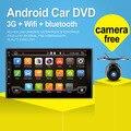 2016 Mais Novo 2 Din 100% Puro Android 4.4 Jogador Do Carro Universal Pc Stereo Navegação Gps Multimídia de Vídeo Tela Capacitiva