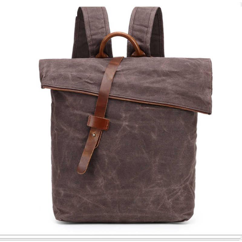 Черный/хаки/серый/кофе/армия зеленый рюкзак холст школьная сумка туристические рюкзаки для подростков мальчиков Тетрадь bagpack компьютерные сумки