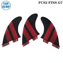 2019 New style fins FCS II G7 Fins Red decorate Fiberglass Fin Hot Surf FCS2 Surfboard Sale