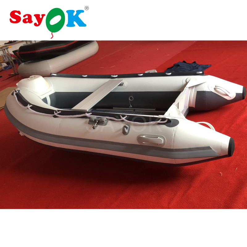 US $1330 0 |Hypalon Inflatable boat red inflatable fishing boat with  aluminum floor, inflatable rescue boat for sale-in Inflatable Bouncers from  Toys