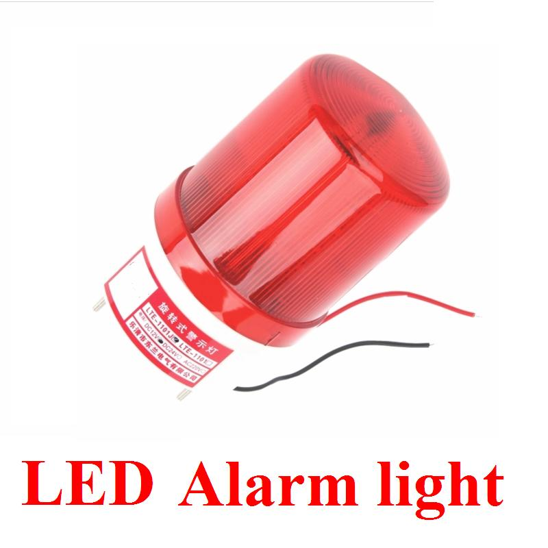 12V/24V/110V/220V  LED alarm lamp Voiced four color Rotary warning light/ strobe light/strobe lamp glukhar v