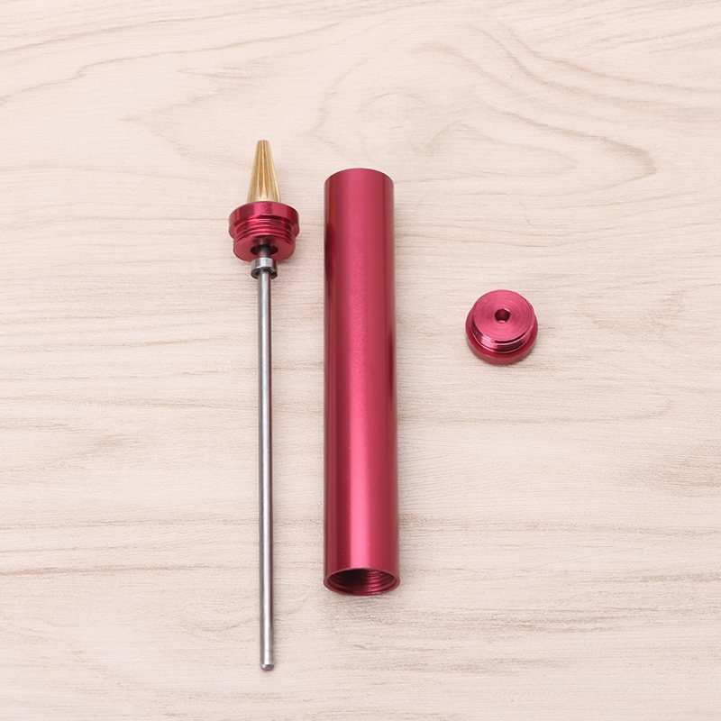 DIY Leather Craft Edge Dye Oil Pen Applicator Brass Head Hand Treatment Tools
