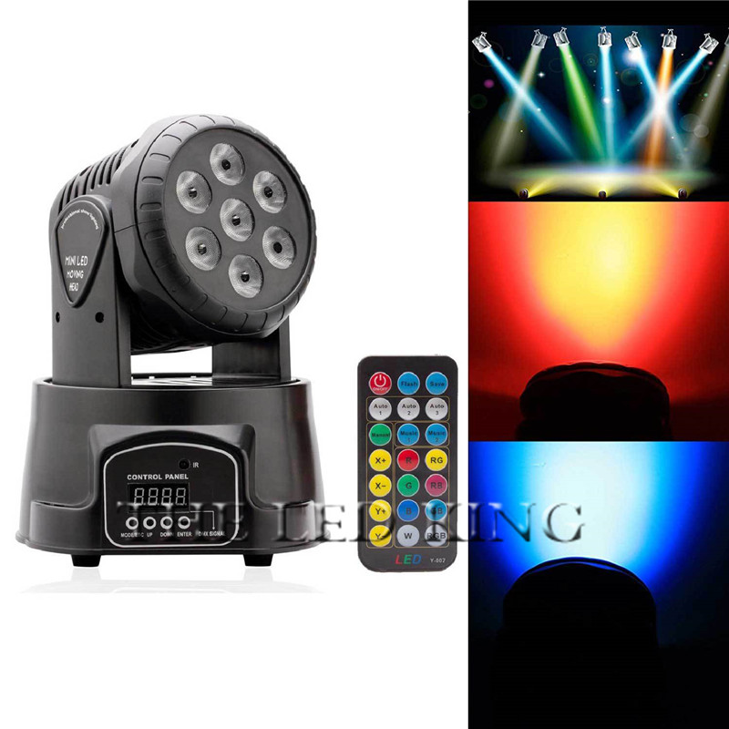 (2pcs/lot) Led Moving Head 100w 14channels Moving Head Led Stage Lighting For Wedding Christmas Birthday Dj Disco Ktv Bar Event High Standard In Quality And Hygiene