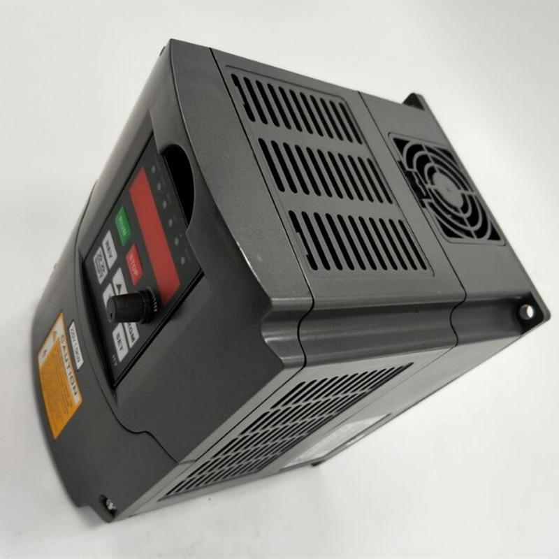 VFD 5.5kw 220v single input ,380v 3P output inverter quality guarantee have english manual