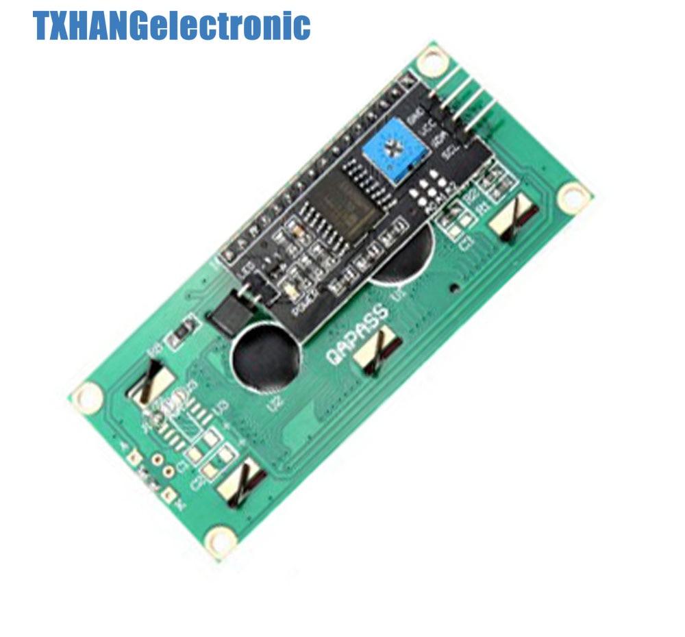 1 шт. синий дисплей IIC/igc/TWI/последовательный интерфейс SPI 1602 16X2 ЖК-модуль 1602 ЖК-дисплей