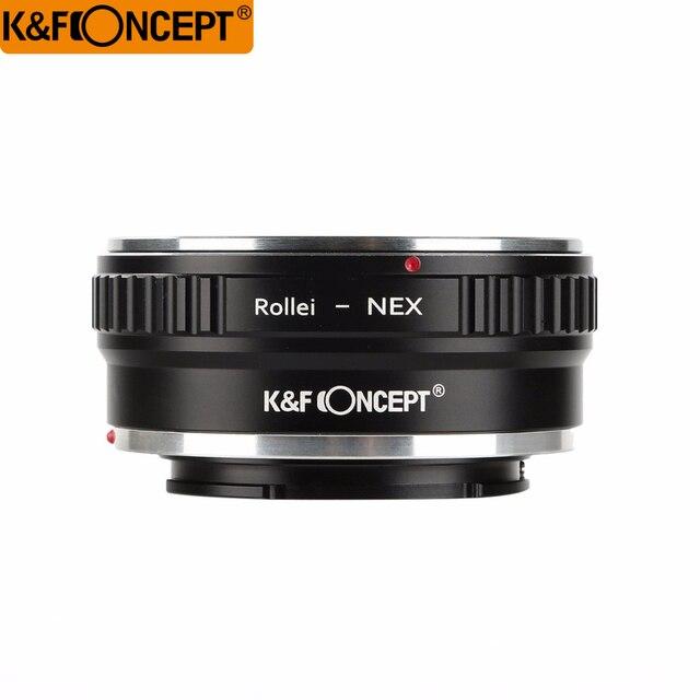 K   F Concept Bague D adaptation D objectif Pour Rollei QBM Objectif ... a4c30f1e87b0