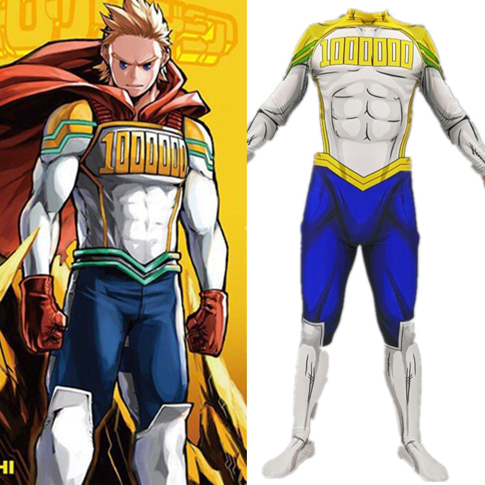 My Hero Academia Boku No Hero Costume Mirio Togata Cosplay Jumpsuit Bodysuit Suit Adult Kids Holloween Gifts