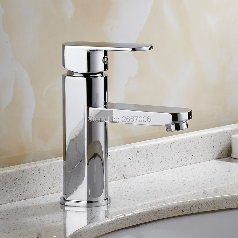 Free Shipping Solid Brass Single Handle Basin Faucet Long Spout Tap Bathroom Vanity Sink Mixer Tap Deck Mount Faucet ZR648 wholesale and retail free shipping waterfall spout solid brass bathroom basin faucet single handle hole vanity sink mixer tap