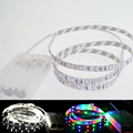Good Quality DC5V LED Strip Light 60Leds 3528 1m/2m/3m/4m/5m With Battery Box Multi Color Home Party TV Decoration