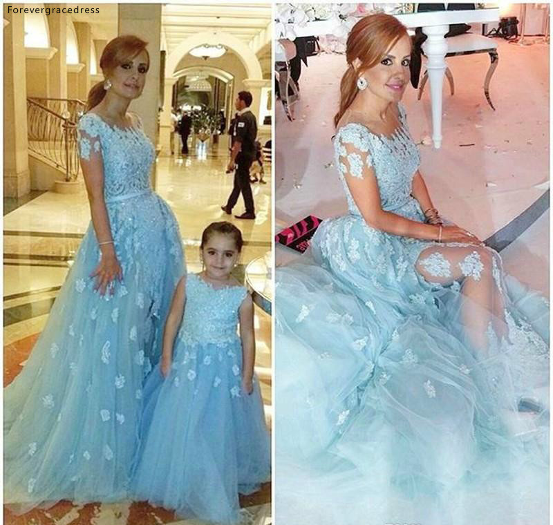 Lovely Cute   Flower     Girls     Dresses   A Line Tulle Daughter Toddler Pretty Kids Children Pageant Formal First Holy Communion Gowns