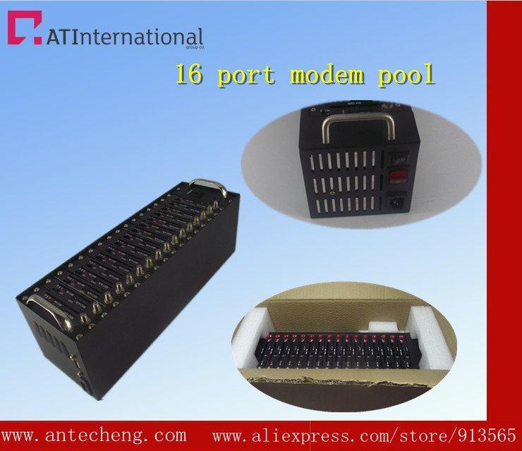 16 ports modem pool MC55I cinterion module dual band