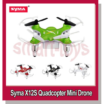 Upgraded X12 Syma X12S 4CH 6 Axis Helicopter RC Quadcopter Mini Drone RTF UFO 2.4GHz Protection Guard