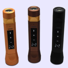 4 In 1 Multi-Functional Bluetooth Speaker MP3+Flashlight+FM Radio Outdoor Riding Cycling Radio Portable Speaker Power Bank Color(China)