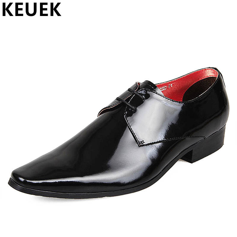 New Arrival Fashion Men Dress shoes Genuine leather Flats Pointed Toe Breathable Oxfords shoes Male Loafer Brogue Shoes 03 vintage leather mens shoes fashion brogue pointed toe carved oxfords shoes men casual dress shoes 2017 new arrival black grey