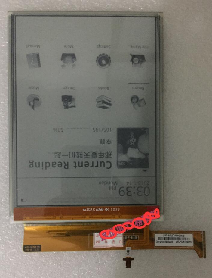 Ebooks pour tablette d'origine 6 pouces pvi Kobo Glo ED060XG1