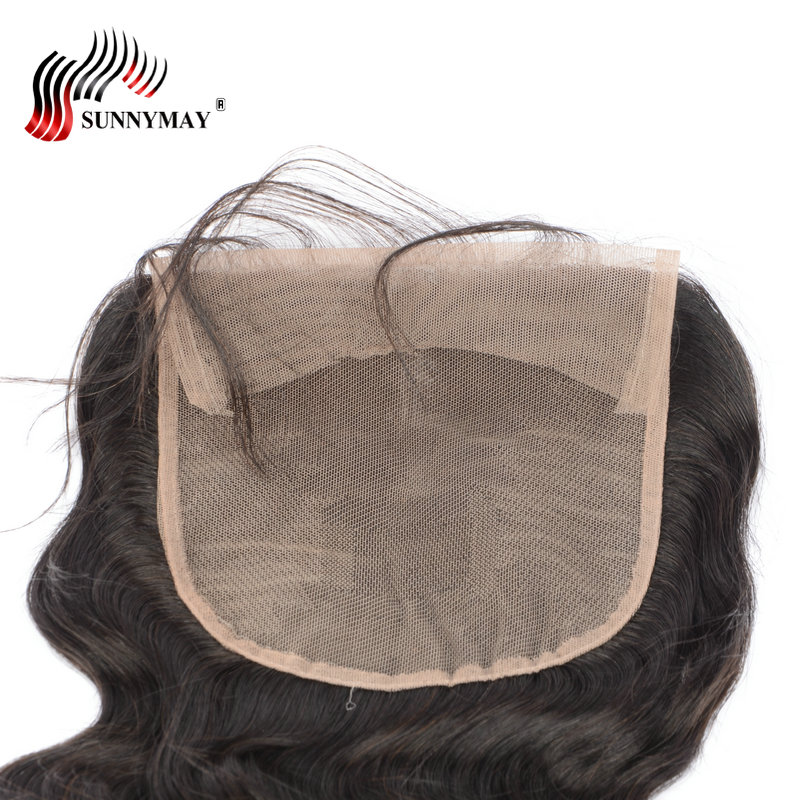Sunnymay 6x6 Lace Closure With Baby Hair Body Wave Beauty Forever Hair Bleached Knots Brazilian Virgin Hair Pre Plucked
