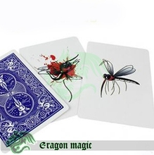 Mosquito Action Children Magic Tricks Free Shipping Magia Trick Toy Close up Easy Fun Magie
