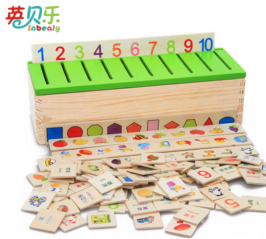 Aliexpress.com : Buy Montessori Wooden Puzzle Early ...